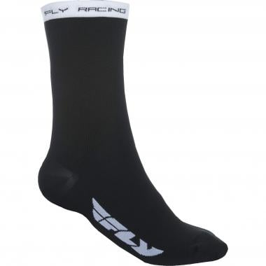 Chaussettes FLY RACING CREW Noir/Blanc 2019