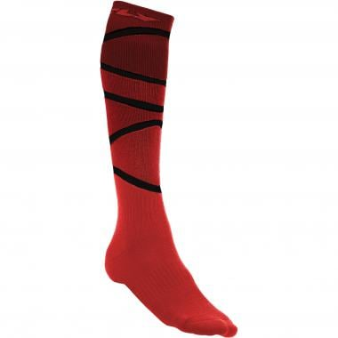 Chaussettes FLY RACING MX THICK Rouge/Noir 2019