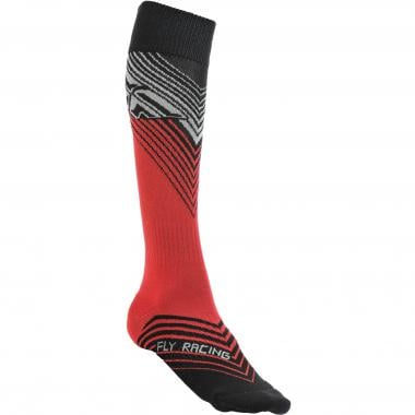 Chaussettes FLY RACING MX THIN Rouge/Noir