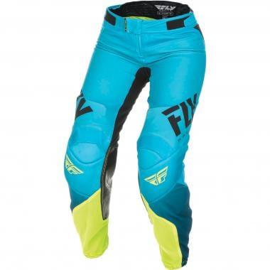 Pantalon FLY RACING LITE Femme Bleu/Jaune