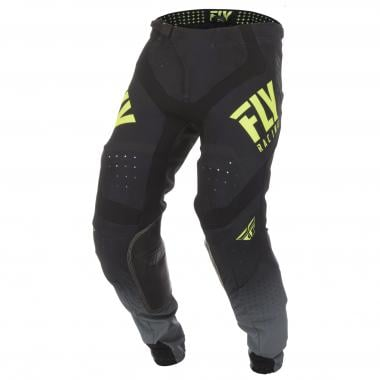 Pantalon FLY RACING LITE HYDROGEN Noir/Jaune Fluo