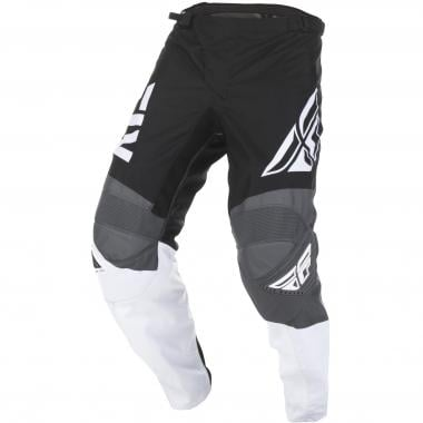 Pantalon FLY RACING F-16 Noir/Blanc/Gris 2019