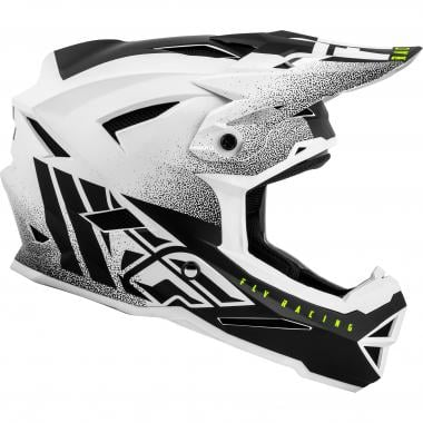 Casque FLY RACING DEFAULT Enfant Blanc/Noir Mat 2019