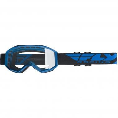 Masque FLY RACING FOCUS Bleu Écran Transparent