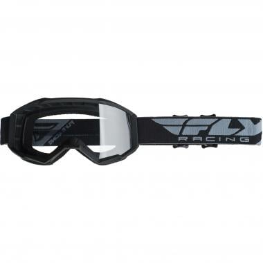 Masque FLY RACING FOCUS Noir Écran Transparent
