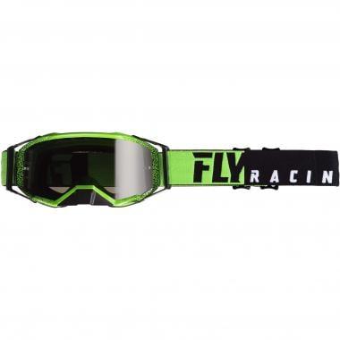 Masque FLY RACING ZONE PRO Noir/Vert Écran Iridium