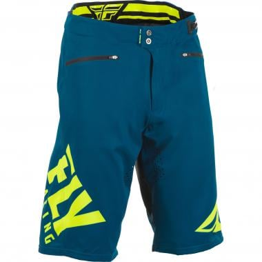 Short FLY RACING RADIUM Bleu/Jaune 2019