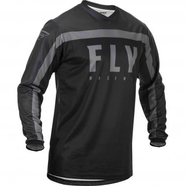 Maillot FLY RACING F-16 Manches Longues Noir 2020