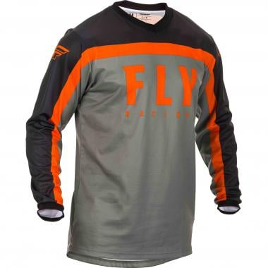 Maillot FLY RACING F-16 Manches Longues Gris 2020