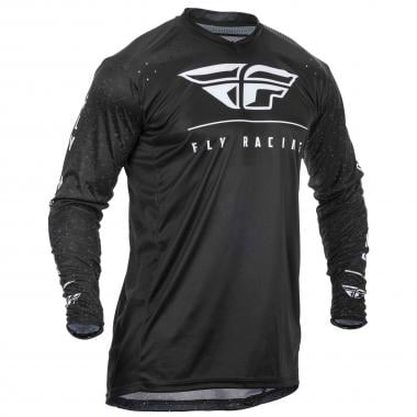Maillot FLY RACING LITE HYDROGEN Manches Longues Noir 2020