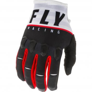 Gants FLY RACING KINETIC K120 Noir/Blanc 2020