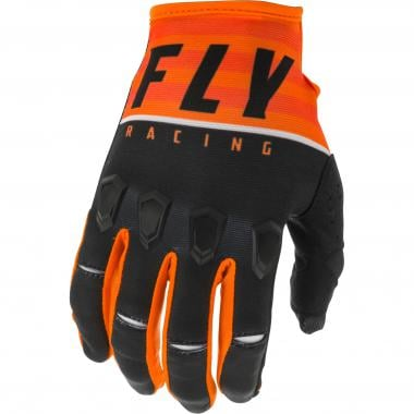 Gants FLY RACING KINETIC K120 Orange/Noir 2020