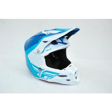 CDA - Casque VTT FLY RACING F2 PURE Teal Blanc - Taille S