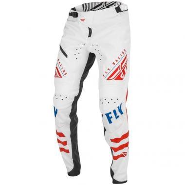 Pantalon FLY RACING KINETIC Enfant Blanc