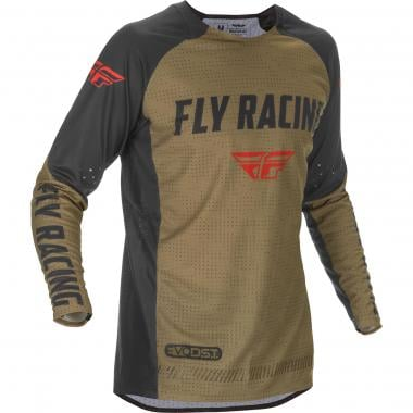 Maillot FLY RACING EVO Manches Longues Marron 2021