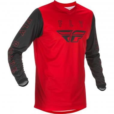 Maillot FLY RACING F-16 Enfant Manches Longues Rouge 2021