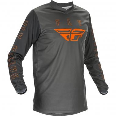 Maillot FLY RACING F-16 Enfant Manches Longues Gris 2021