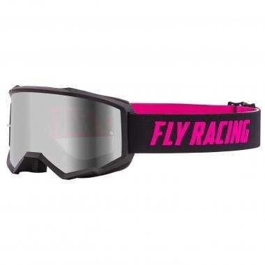 Masque FLY RACING ZONE Noir/Rose Écran Iridium 2021