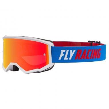 Masque FLY RACING ZONE Bleu Écran Iridium 2021