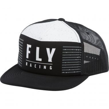 Casquette FLY RACING HYDROGEN Noir/Blanc 2021