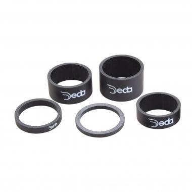"Entretoise de Direction DEDA CARBON SPACER 1""1/8 Carbone"