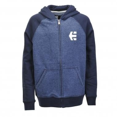 Sweat à Capuche ETNIES E-CORP ZIP Junior Bleu 2016