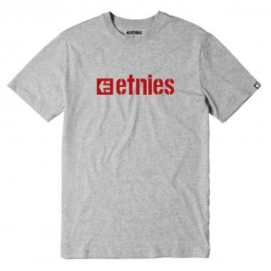 T-Shirt ETNIES BOX LOGO Cinzento 2016