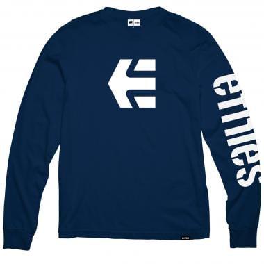 T-Shirt ETNIES ICON Manches Longues Bleu 2019