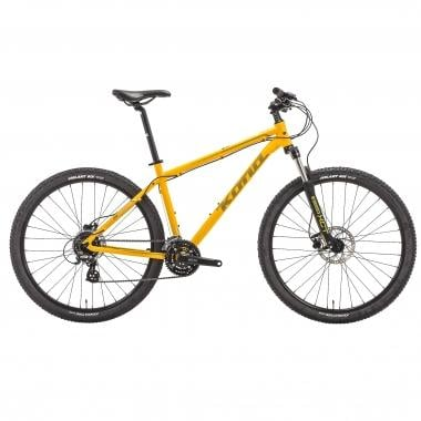 "Mountain bike KONA LAVA DOME 29"" Amarillo 2017"