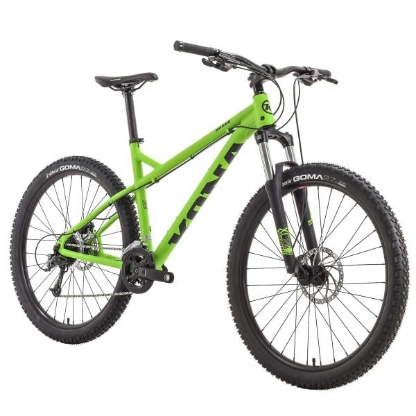 Kona Shred 26 27 5 Mtb Green 2017 Probikeshop