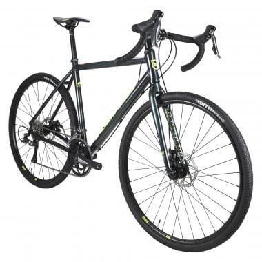 Bicicleta de Gravel KONA ROVE Shimano Claris 34/50 Verde/Amarillo 2020