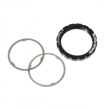 Kit EXCESS Lock Ring Alu et Entretoise 1x0.5mm, 1x1mm (Compatible Shimano)
