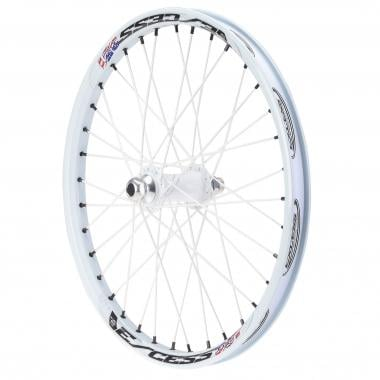 Roue Avant EXCESS 352 PRO Axe 20 mm Blanc