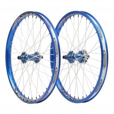 Par de ruedas EXCESS 351 PRO Cassette Azul
