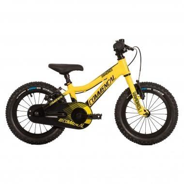 """Bicicleta de Criança COMMENCAL RAMONES 14"""" Amarelo 2017"""