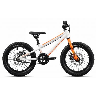 """Vélo Enfant COMMENCAL RAMONES 16"""" Blanc/Orange 2020"""