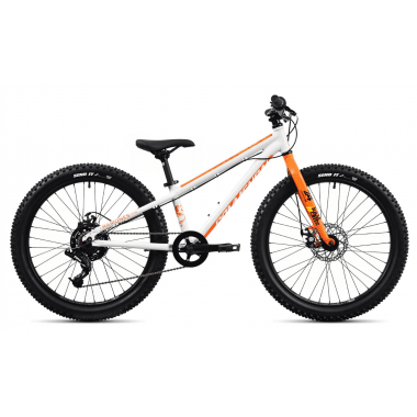 "MTB COMMENCAL RAMONES 24"" Bianco/Arancione 2020"