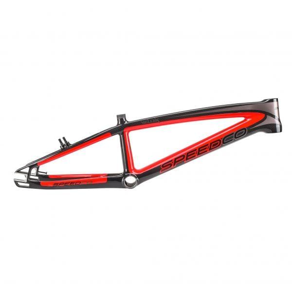 Cuadro SPEED CO BICYCLES VELOX Pro XL Negro/Rojo - Bikeshop