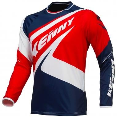 Maillot KENNY BMX ELITE Manches Longues Bleu/Blanc/Rouge