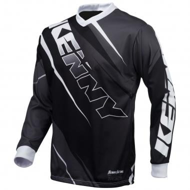 Maillot KENNY TRACK Niño Mangas largas Negro/Gris