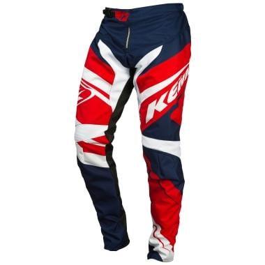 Calças KENNY BMX ELITE Criança Azul/Branco/Vermelho