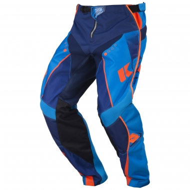 Pantalon KENNY TRACK Bleu Marine/Cyan/Orange Fluo 2017