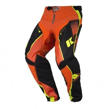 Pantalon KENNY TRACK Noir/Orange Fluo 2017
