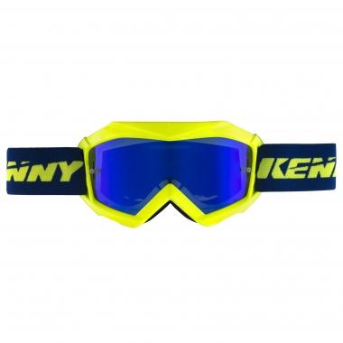 Gafas máscara KENNY TRACK+ KID Niño Azul/Amarillo fluorescente 2017
