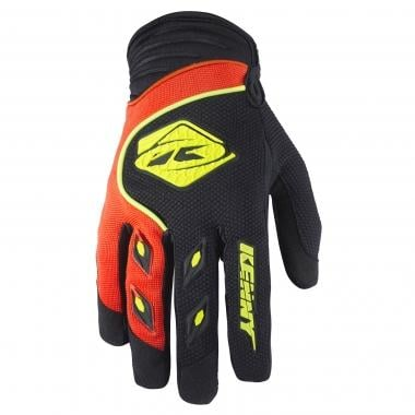 Gants KENNY TRACK Noir/Orange Fluo 2017
