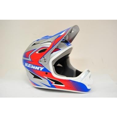 CDA - Casque KENNY DOWN HILL Rouge/Bleu/Gris 2017 Taille XS