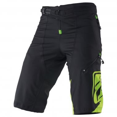 KENNY FACTORY Shorts Black/Yellow