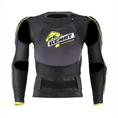 Gilet de Protection KENNY PERFORMANCE + Jr Noir/Jaune