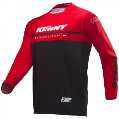 Maillot KENNY ELITE Manches Longues Rouge