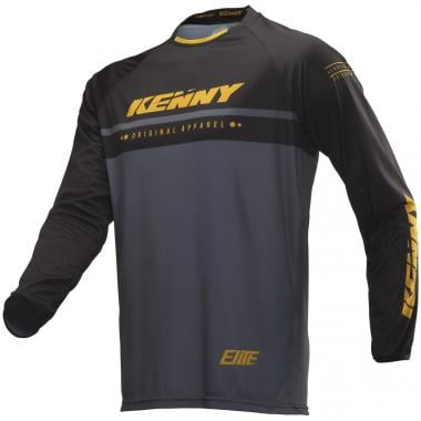 Maillot KENNY ELITE Manches Longues Noir/Or 2019